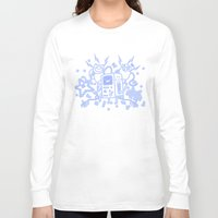 bmo Long Sleeve T-shirts featuring BMO by Daniel Delgado