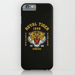 Royal Tiger iPhone Case