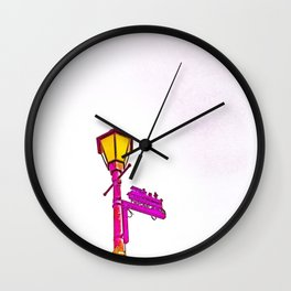 Colfax, California 2018 Wall Clock
