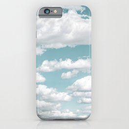 Cloud Hopping iPhone Case