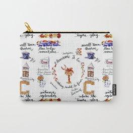 Clemson Village Carry-All Pouch