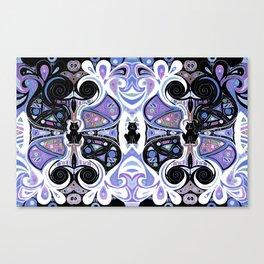 Symmetrical Cat (180i) Canvas Print