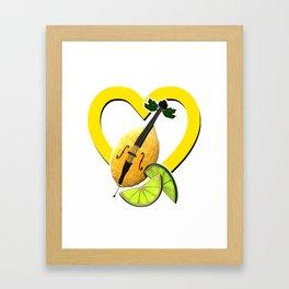 i love limoncello Framed Art Print