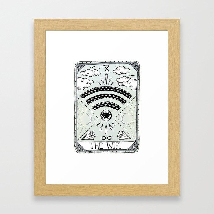 The Wifi Framed Art Print