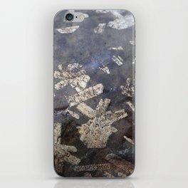 Chinese writing stone iPhone Skin