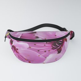 Colorful Cherry Blossom Flowers Fanny Pack