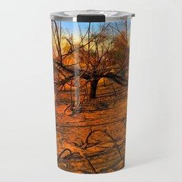 Wildfire Burnt Branches Travel Mug