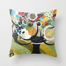 Triesta! Throw Pillow