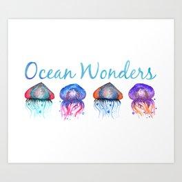 Ocean Wonders Art Print