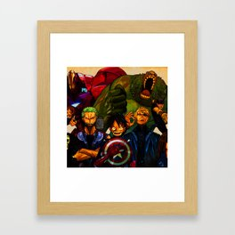 Imitate Framed Art Print