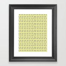 Crosses Framed Art Print