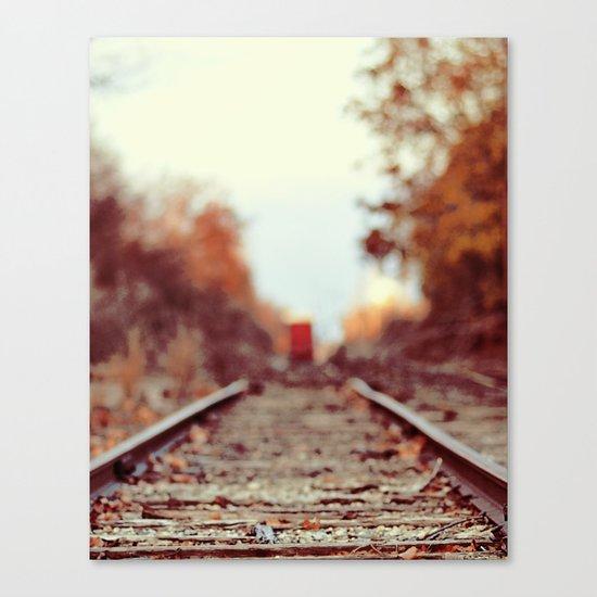 Train Song Canvas Print