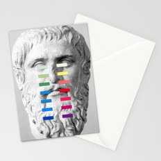 Sculpture With A Spectrum 1 Stationery Cards