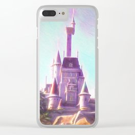 Rapunzel's Castle Clear iPhone Case