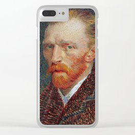 Van Gogh 1887 Clear iPhone Case