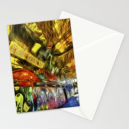London Graffiti Van Gogh Stationery Cards