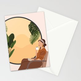 A Relaxing Afternoon Stationery Cards
