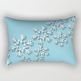 Les fleurs en diagonale Rectangular Pillow