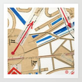 Short Stories from the City - Tempo I Art Print