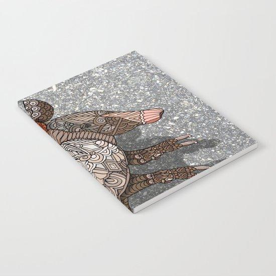 Ornate Armadillo Notebook