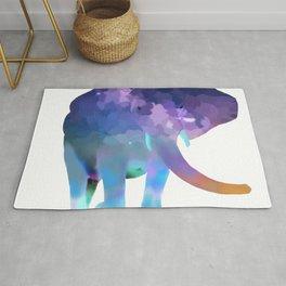 Elephant in the sky Rug