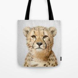 Cheetah - Colorful Tote Bag