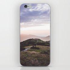 good morning mountains iPhone & iPod Skin