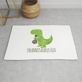 Tyrannosaurus Flex Rug