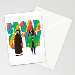Broad City - Mushrooms Stationery Cards