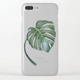 Monstera The One Clear iPhone Case