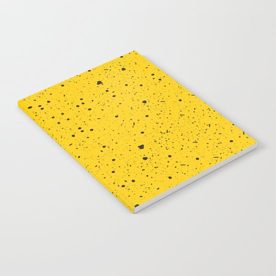 Speckled Yellow Notebook