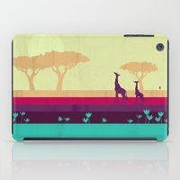 safari iPad Cases featuring Safari by Kakel
