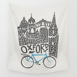 Oxford Cityscape Wall Tapestry