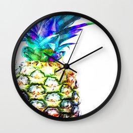 Pineapple Close Up Wall Clock