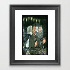 hra Framed Art Print