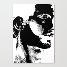 Rorschach test Canvas Print