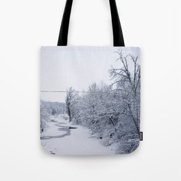 In the Dead of Winter Tote Bag