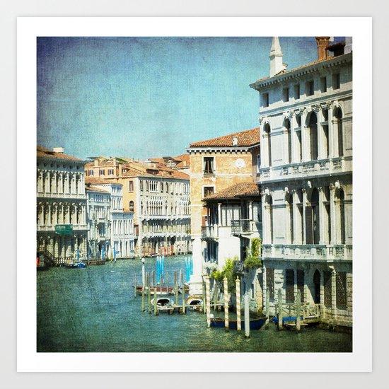 The Grand Lady - Venice Art Print