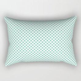Opal Polka Dots Rectangular Pillow