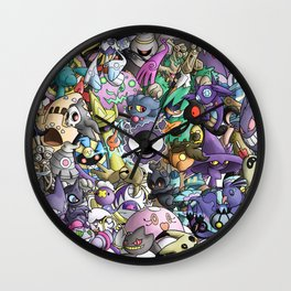 Ghost Force Wall Clock