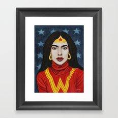 Super Gurls - 01 Framed Art Print