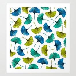 Ginkgo Flush Art Print
