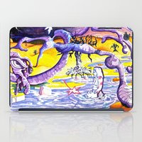 lsd iPad Cases featuring LSD by Julie Roth Illustration