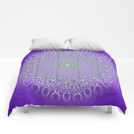 mandala dhalia Comforters