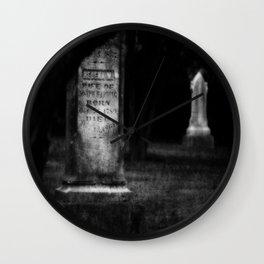 Until Death Do Us Part Wall Clock