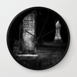 Until Death Do Us Part Wall Clock