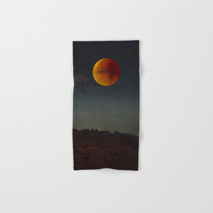 Blood Moon Rising Hand & Bath Towel