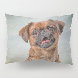 Drawing Dog breed Griffon Brabanson Pillow Sham