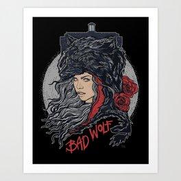 Bad Wolf Art Print