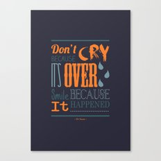 Dr. Seuss Quote  Canvas Print